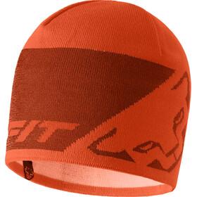 Dynafit Leopard Logo Beanie, oranje/rood